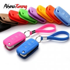 Silicone 3 Buttons Car Key Cover for VW Bettle