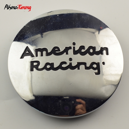 American Racing Wheel Center Caps 75mm(70mm) Chrome